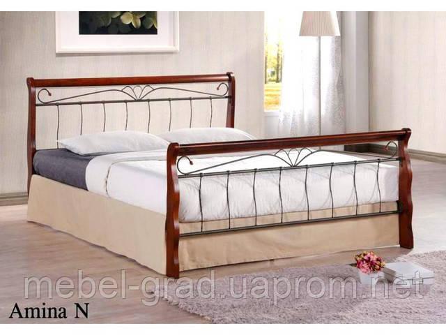 Двоспальне ліжко Amina / Аміна Onder metal 160х200