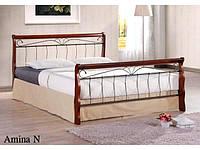 Двухспальная кровать Amina / Амина Onder metal 160х200
