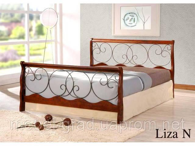 Двоспальне ліжко Liza / Ліза Onder metal 160х200