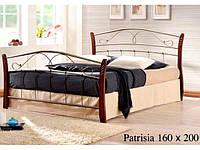 Двухспальная кровать Patrisiya / Патриция Onder metal 160х200