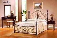 Двухспальная кровать Vita / Вита Onder metal 160х200