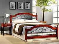 Двухспальная кровать АТ 9119 Onder metal 160х200