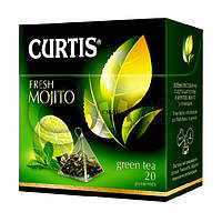 Чай Curtis Fresh Mojito (мохито), 1,7 Г*20 ПАК. В ПИРАМИДКАХ