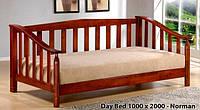 Односпальная кровать Norman / Норман Onder metal 100х200