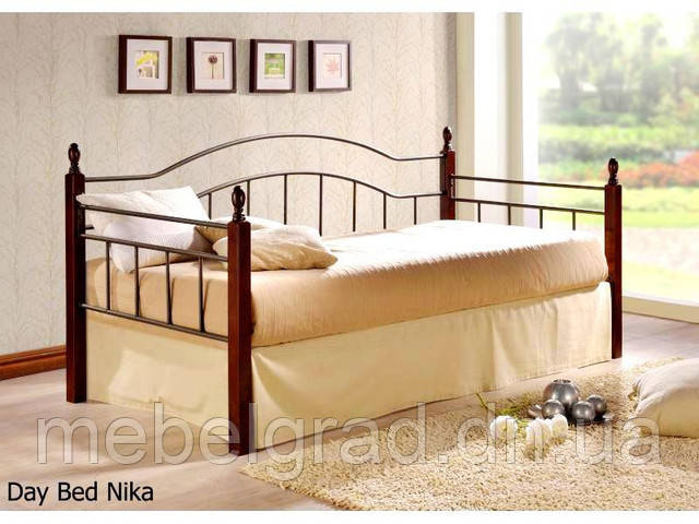 Односпальне ліжко Nika / Ника Onder metal 90х200