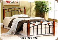 Односпальная кровать Hilda / Хильда Onder metal 90х190