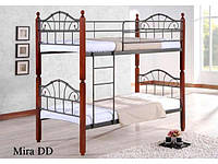 Двухъярусная кровать Mira / Мира Onder metal 90х190