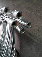 Прут стальной оцинкованный для чистки дымохода 8 м