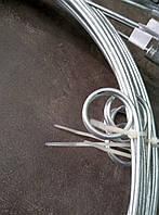 Прут стальной оцинкованный для чистки дымохода 10 м