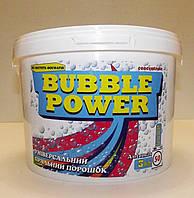 Безфосфатный универсальный стиральный  порошок – концентрат «Bubble Power» 3 кг.