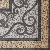 Плитка напольная Византия бежевая