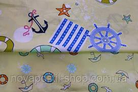 Детское постельное белье из сатина Морской круиз