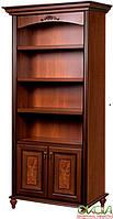Шкаф для книг Верона Скай орех