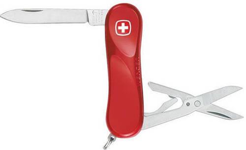 Удобный складной нож Wenger Evolution 1 80 11 300 красный