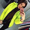 Модная весенняя куртка с капюшоном, фото 3