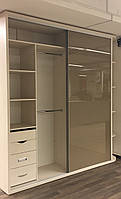 Шкаф купе Starke Slim Premium + стекло лакобель 1236 заводской