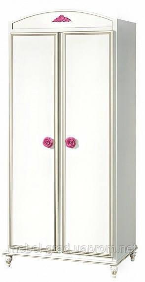 Шкаф 2х дверный Фиерия (Роза) Скай