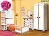 Дитяче ліжко Фієрія (Троянда) Скай 80х190, фото 2