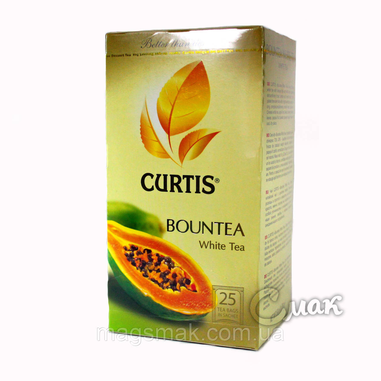 Чай CURTIS Bountea (Баунти), 1,7 Г*25 ПАК. САШЕТ