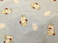 Детское постельное белье из сатина Летящие овечки