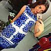 Платье D&G майолика, фото 4