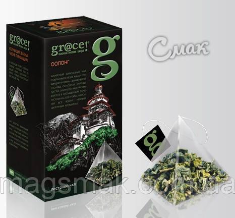 Чай Грейс Оолонг (зеленый), 2 Г*25 ПАК. САШЕТ