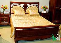 Кровать двухспальная Marie Claire / Мэри Клэр натуральное дерево AMD