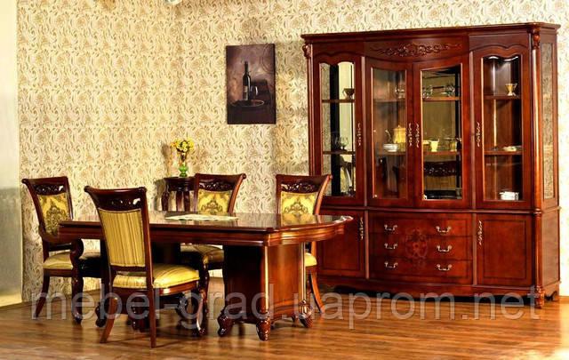 Столовая мебель Carpenter 230 / Карпентер 230 натуральное дерево