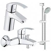 Набор Grohe  EuroSmart 123238 для ванны 3 в 1