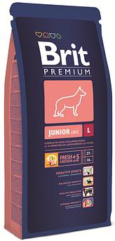 Brit Premium Junior L корм для щенков крупных пород 3 кг