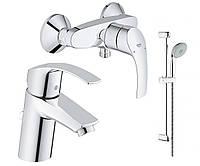 Набор Grohe  EuroSmart 123244 для ванны 3 в 1