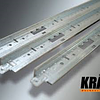 Профиль Kraft Fortis T-24 600 х 25 х 24 мм Ral 9003