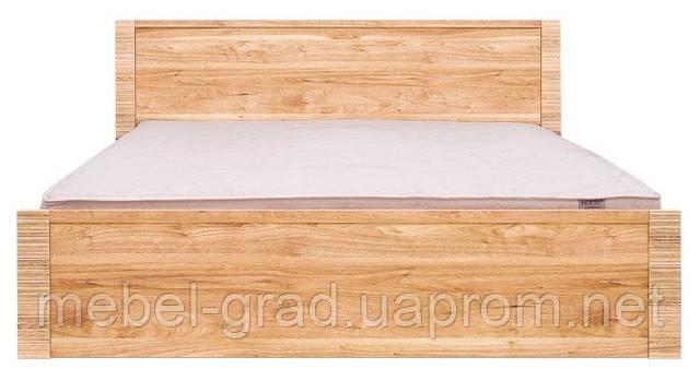 Кровать двухспальная LOZ 160 Рафло / Raflo BRW 160х200 орех салев