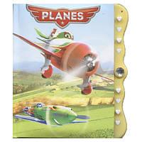 Блокнот детский А-6, 60 листов, на кодовом замке Самолетики