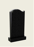Памятник гранитний одинарний с волной