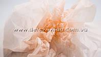 Бумага тишью, персиковая, 50 на 75 см,10 листов