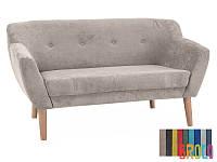 Мягкий диван Signal Bergen 2 светло-коричневый