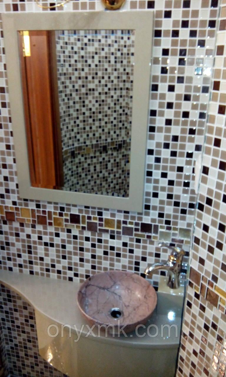 Эксклюзивная подвесная тумба в ванную комнату