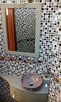 Эксклюзивная подвесная тумба в ванную комнату, фото 1