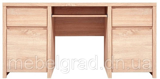 Стол письменный BIU 2D2S Каспиан / Kaspian BRW дуб сонома