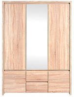 Шкаф 3х дверный SZF 5D2S Каспиан / Kaspian BRW дуб сонома