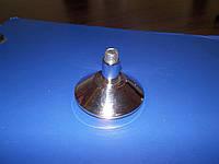 Ножка чашка под резьбу М10 хром, фото 1