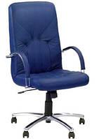 Кресло для руководителя Manager Steel Chrome / Менеджер Стил Хром Nowy Styl