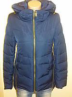 Куртка женская осень весна синяя Meajiateer 16-15