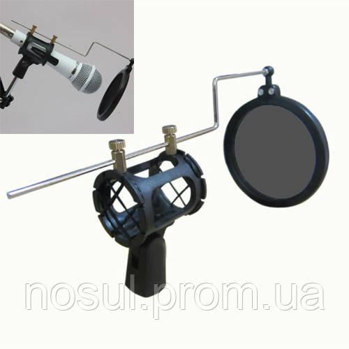 Поп-фильтр для микрофона, держатель и крепление