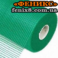Сетка армированная FASADE Plus 140г/м2  5*5мм (1м*50м) зелёная