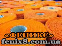 Сетка(стеклосетка) фасадная армированная 145г/м2  5*5мм (1м*50м) оранжевая Budmonster Prime, фото 1