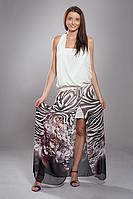 Шифоновое платье женское