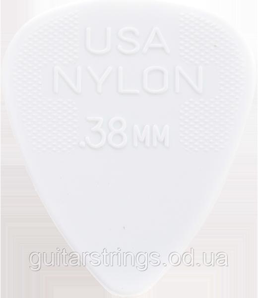 Медиатор Dunlop 44R.38 Nylon 0.38 mm