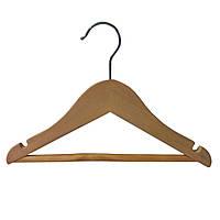 Деревянная вешалка плечики 25см для детской одежды
